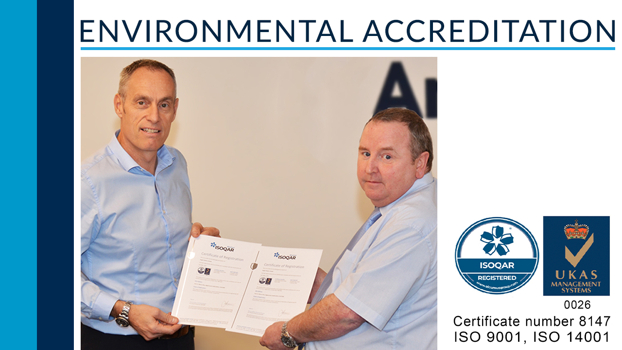 Achieving environmental accreditation!